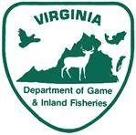 Logo of the Virginia Department of Game and Inland Fisheries