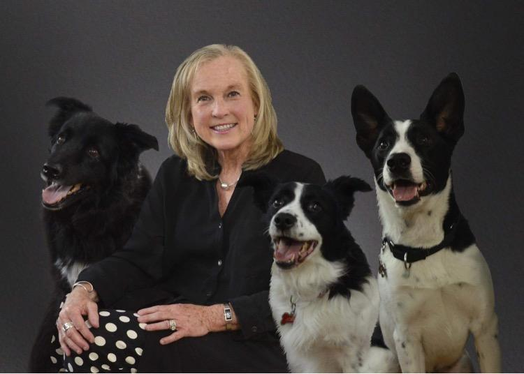Marilyn and her dogs!