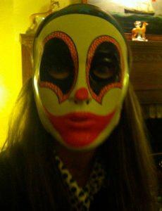 My mask last year....