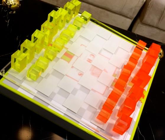 Neon Chess set