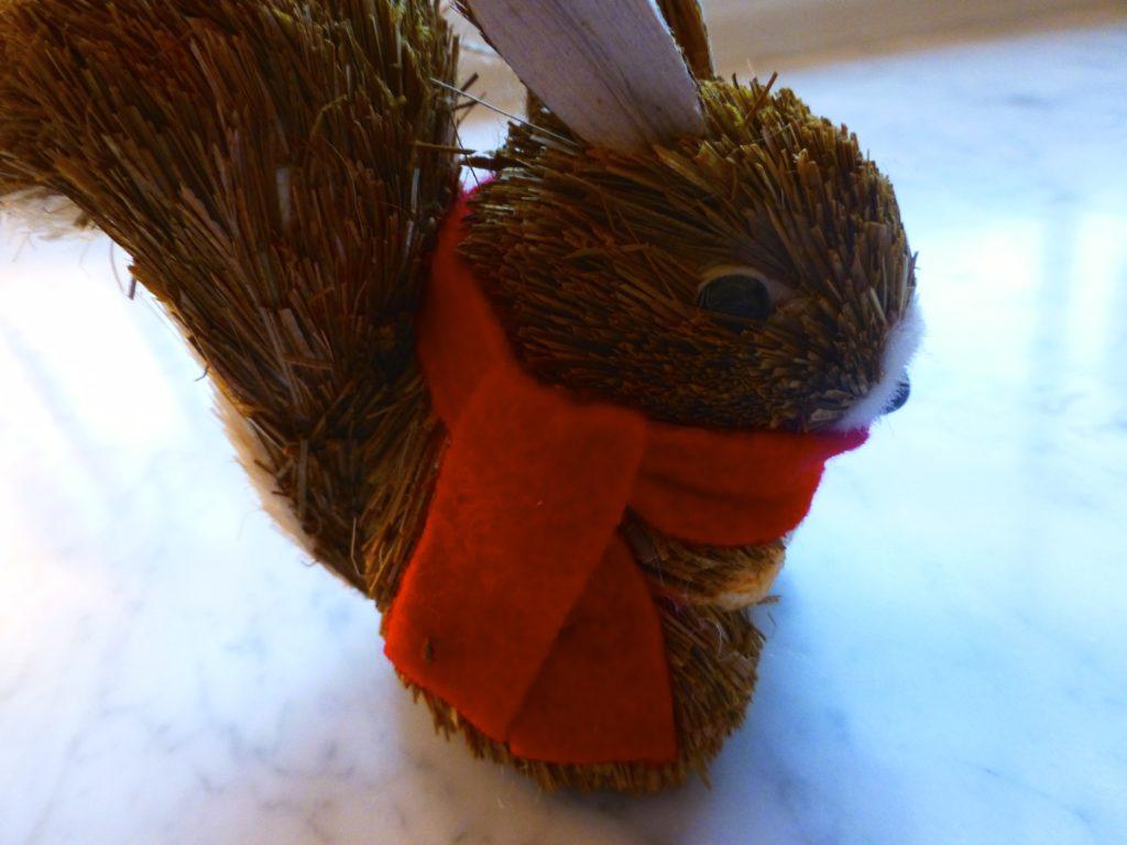 Squirrel ornament $5.00