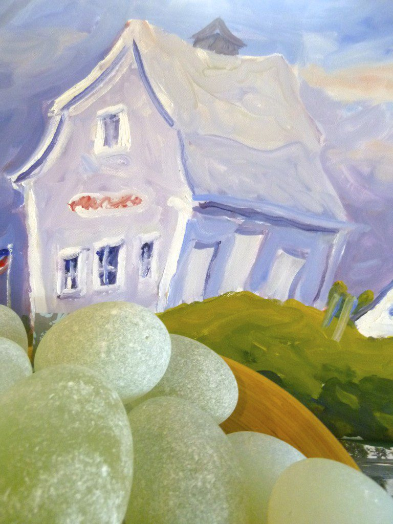 Tom McAleer painting