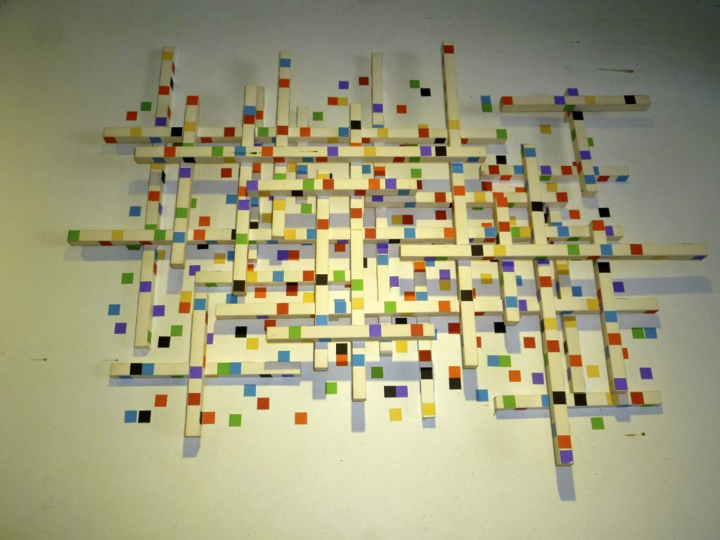 "Similar to Mondrian ""City Grid"""