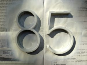 Hillman Door Numbers