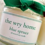 The Wry Home Blue Spruce Candle