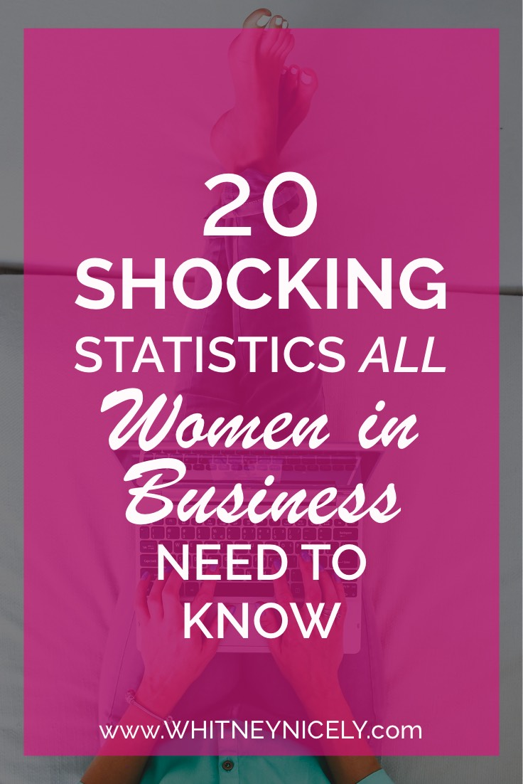 20 Shocking Statistics Women in Business Need to Know