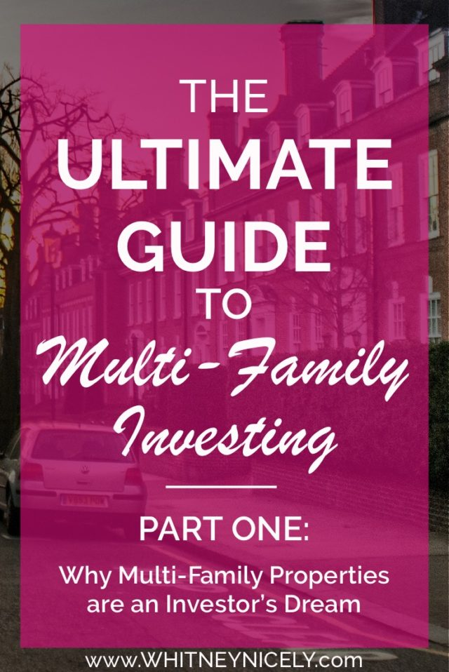 multi-family, investing, apartment investing, passive income, renting, financial freedom