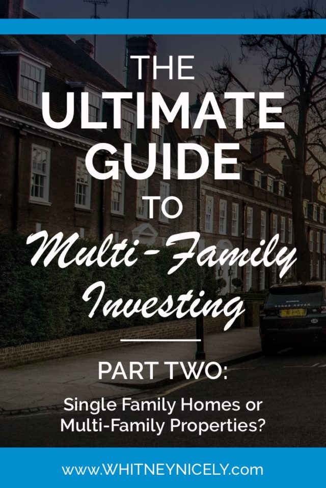 apartments, multi-family properties, investing in multi-family properties, get started in real estate investing