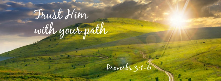 Trust Him with Your Path