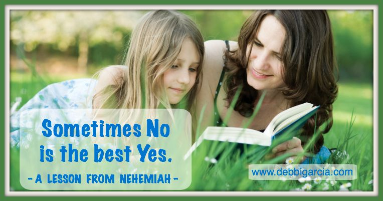 Sometimes No is the best Yes!
