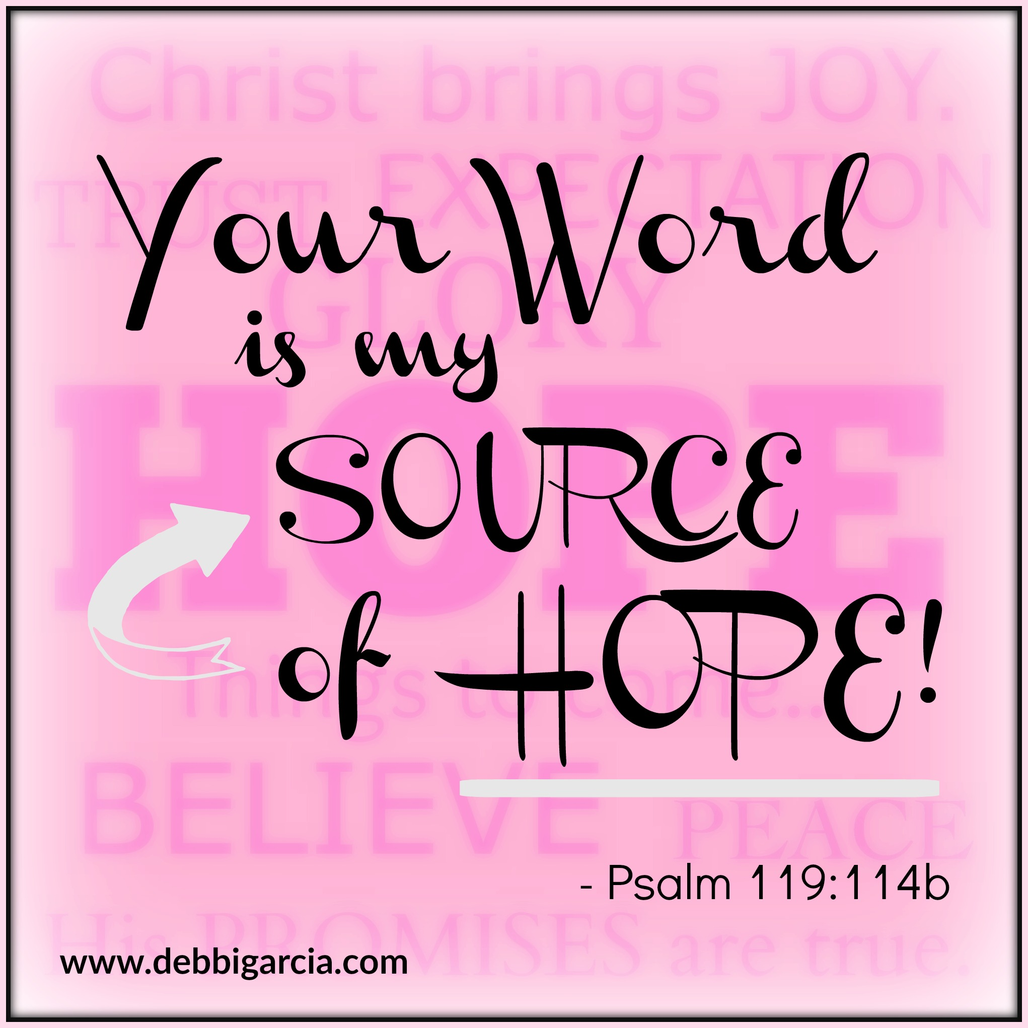 You Are My Source
