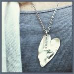 warrior heart necklace site