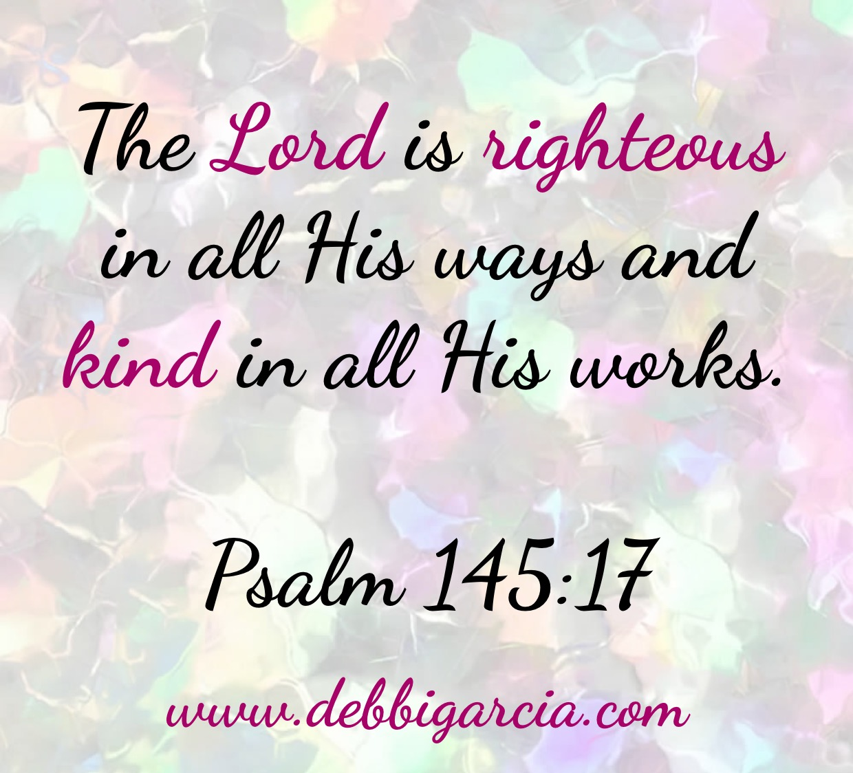 The Lord is Righteous