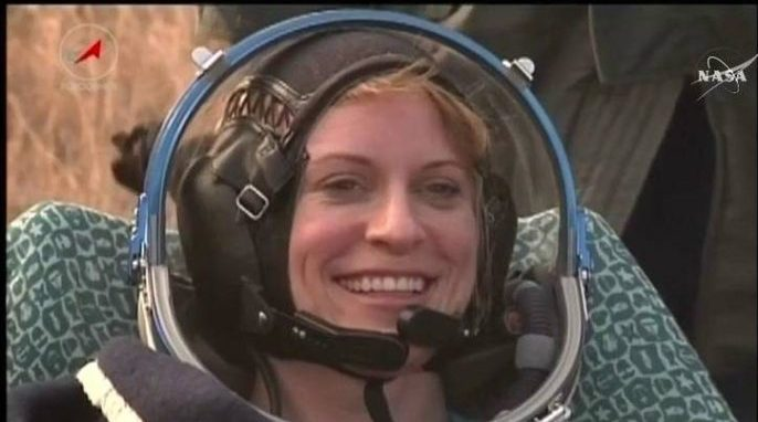 NASA Astronauts Return from Space Station