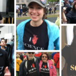 """From California to New Jersey and points in between, friends of GotScience Magazine showed support for science in their I """"heart"""" Science T-shirts from Science Connected. Photos contributed."""