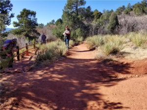 How Do Humans Interact with Closed Nature Trails?
