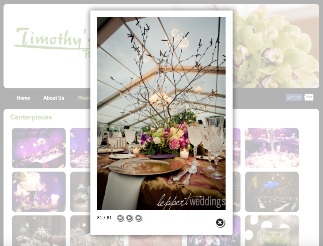 Timothy's Florals Photos