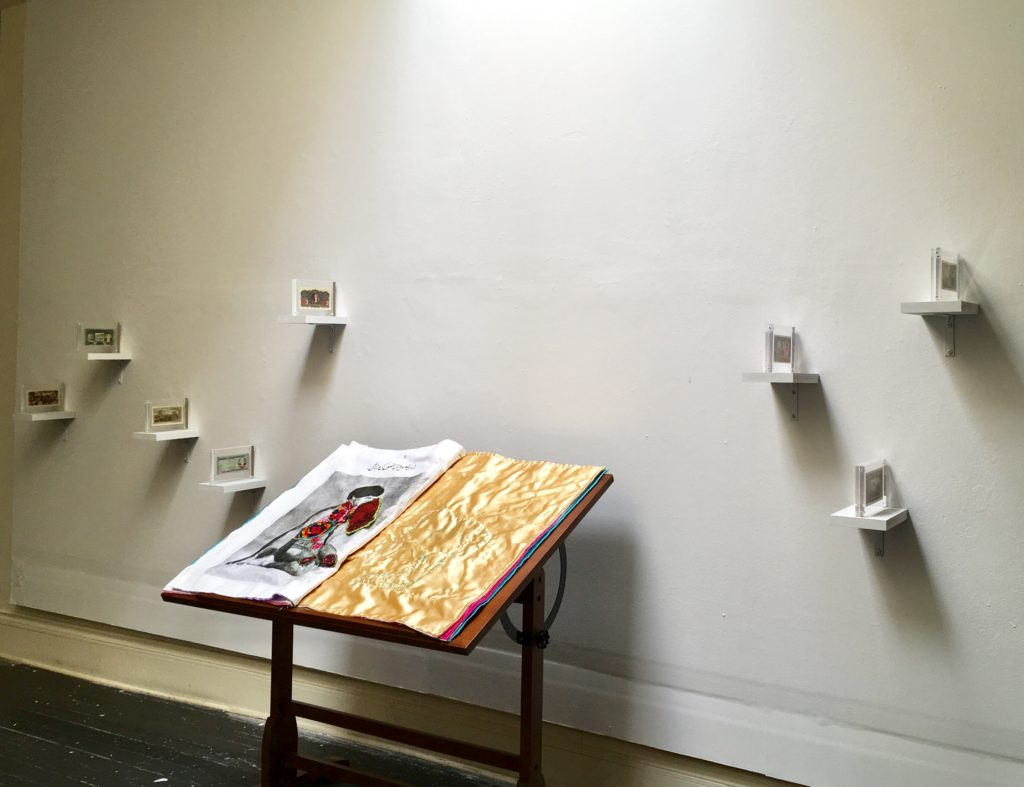 installation view, Queer Value at Project Diana, 2018
