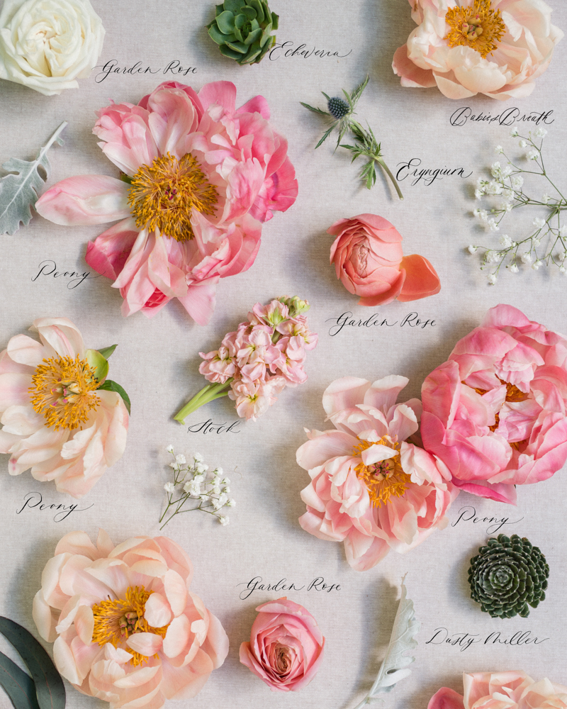 pink and blush peony wedding bouquet