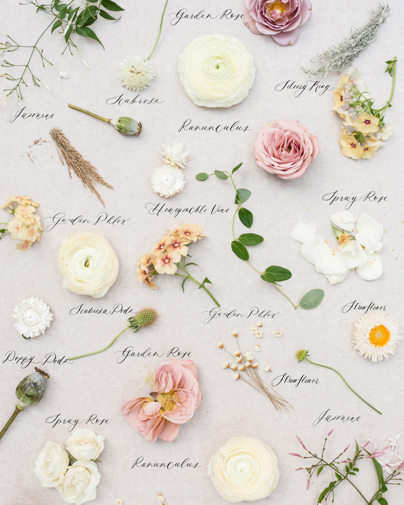 Organic and natural wedding bouquet