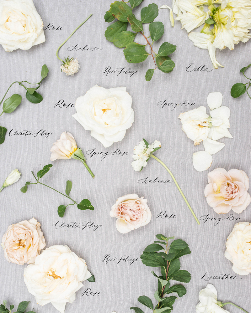 classic white and pink spray rose wedding bouquet