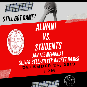 Alumni Silver Bell and Silver Bucket Games