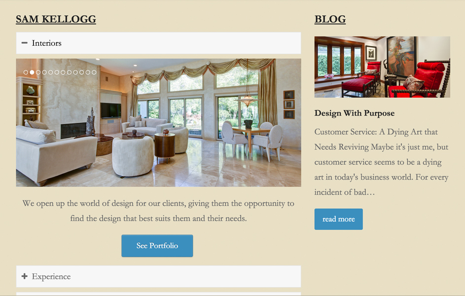 J. Samual Kellogg Interior Design | 97 Switch