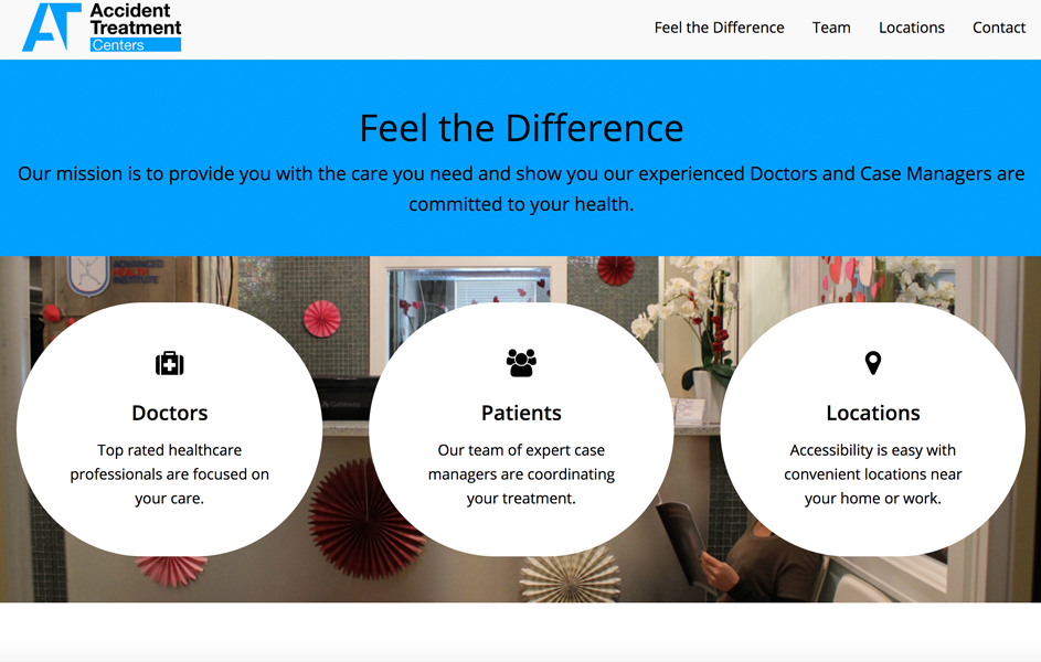 Accident Treatment Centers Recent Work 3