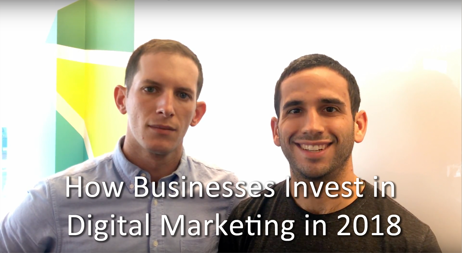 How Businesses Invest In Digital Marketing In 2018 | 97 Switch