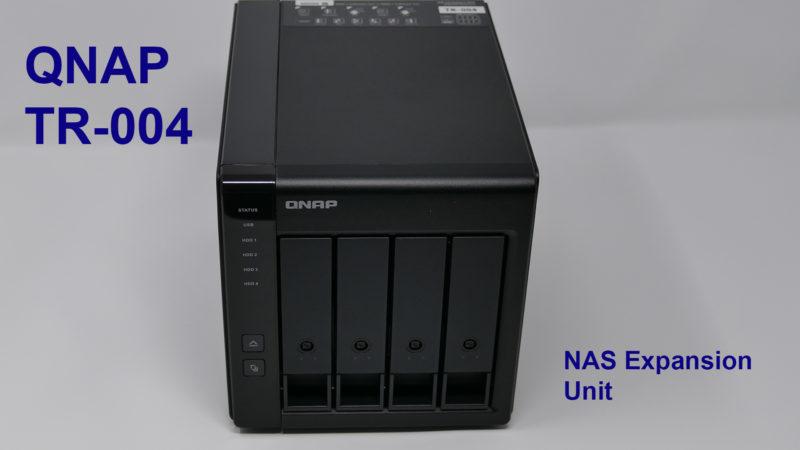 QNAP TR-004 Storage Expansion - The Doc's World