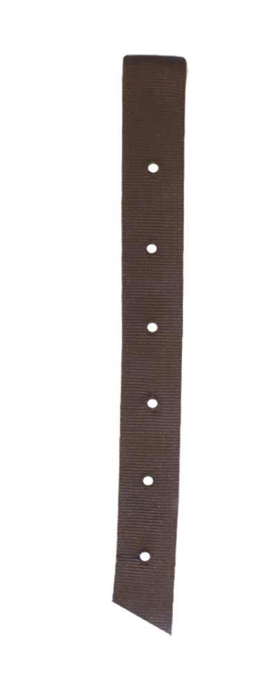 J-100-S Single Nylon Billet (Chocolate Brown)