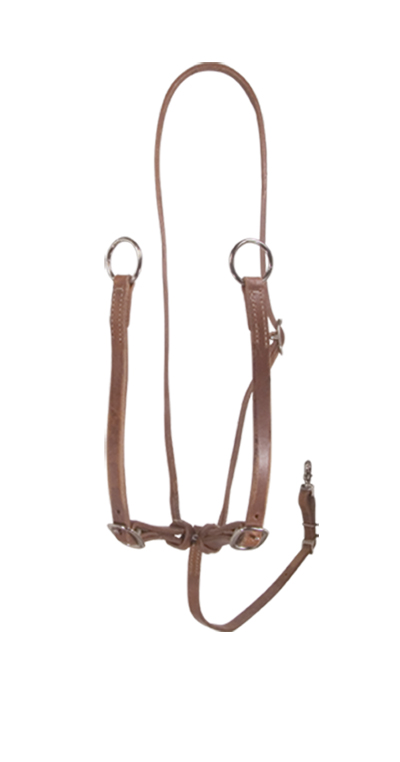 810 OILED HARNESS LEATHER COWBOY MARTINGALE
