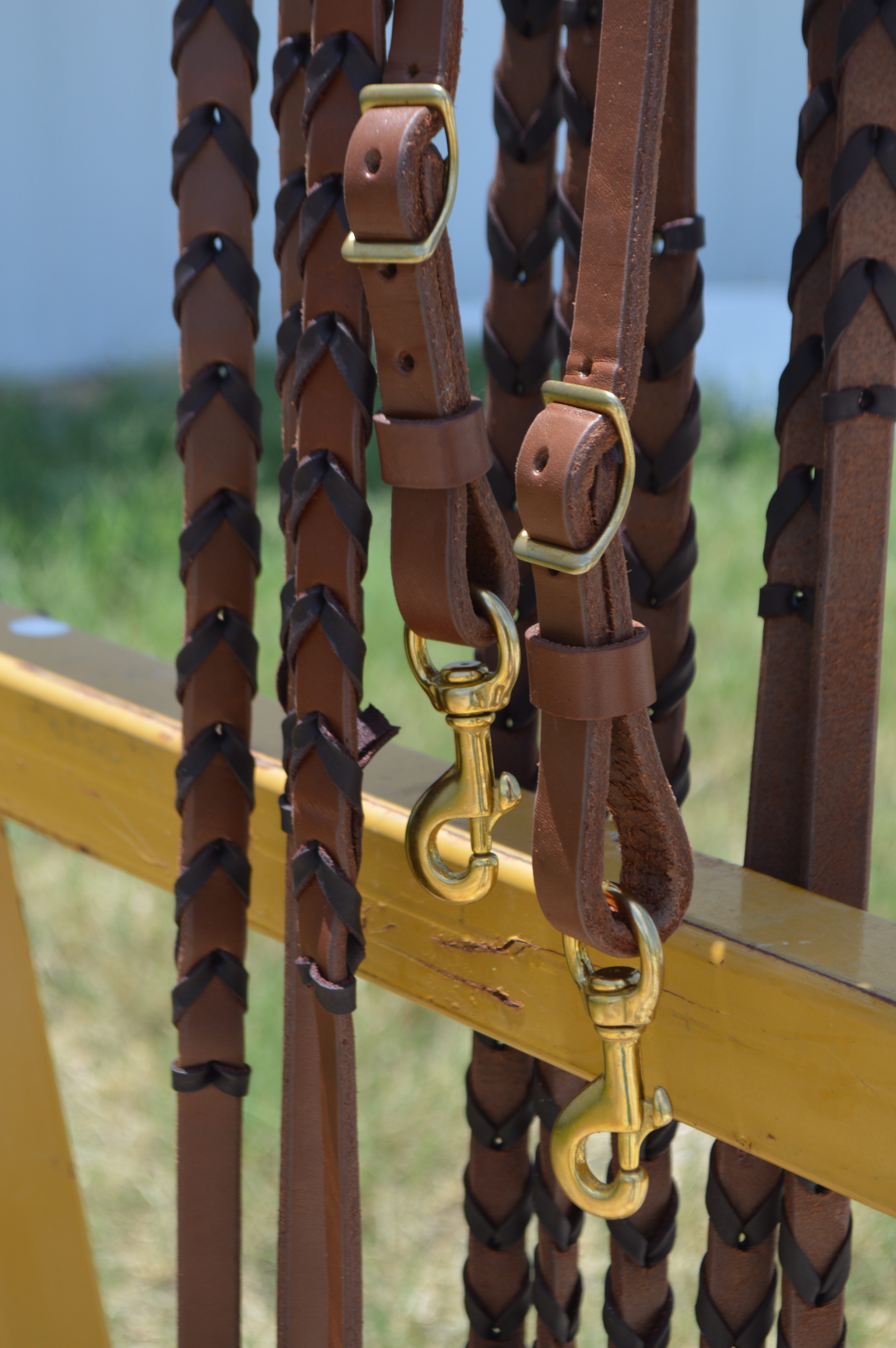 KT REINS Weighed Heavy Oiled with Lacing