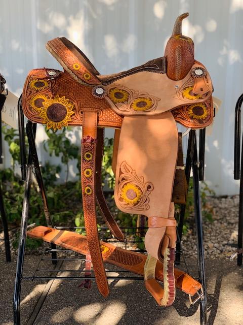 Sunflower Saddle