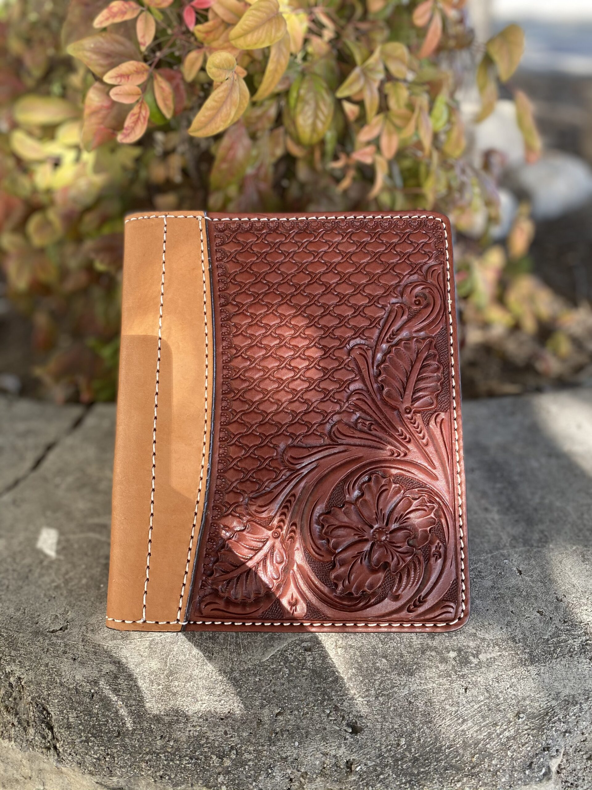 Toast Combo Tooled Mini Portfolio/Planner