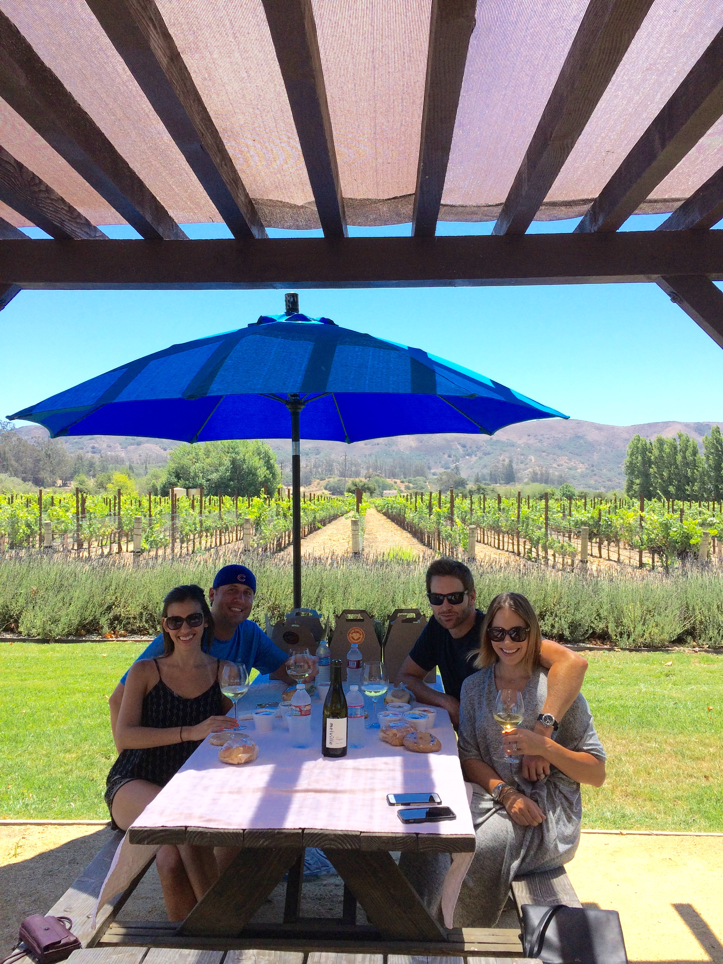 Perfect Wine Tour for a Double Date!