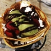 gelato crepe