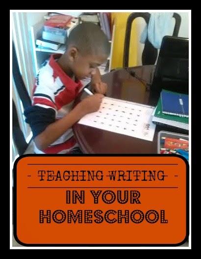 Teaching Writing in Your Homeschool!
