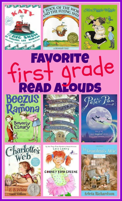 Pinterest: 1st Grade Read Alouds