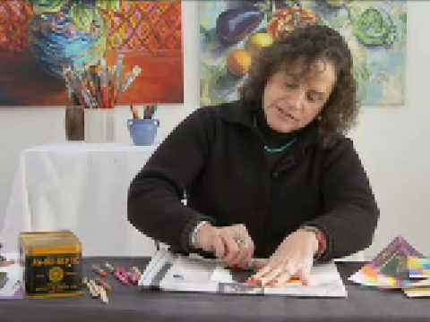 Art Activity Idea: Crayon Etching