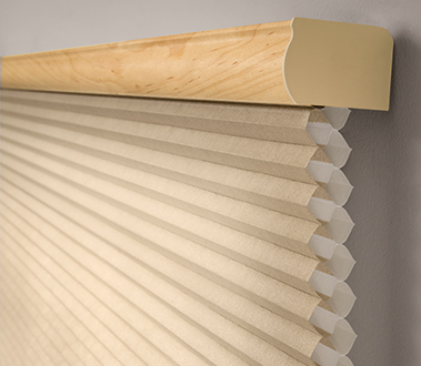 Graber CrystalPleat® Cellular Shades are a stylish way to boost the energy efficiency of your home. An attractive honeycomb design creates pockets of air that insulate windows from heat and cold to lower your energy bills.