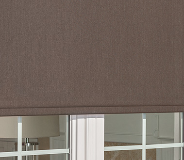 SHADES Graber LightWeaves® Exterior Solar Shades hang outside your patio windows to effectively control the sun's rays.