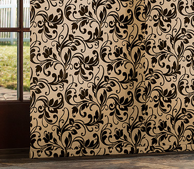 Ideal for patio doors and wide windows, sliding panels also make an excellent room divider.