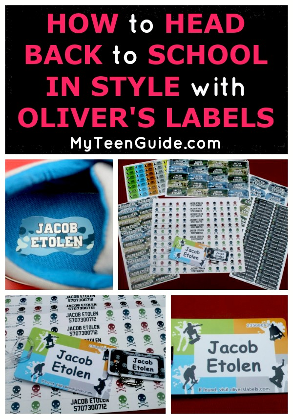 Get your back to school organziation on! Oliver's Labels have the perfectt ideas to getyou ready and we did a full review!
