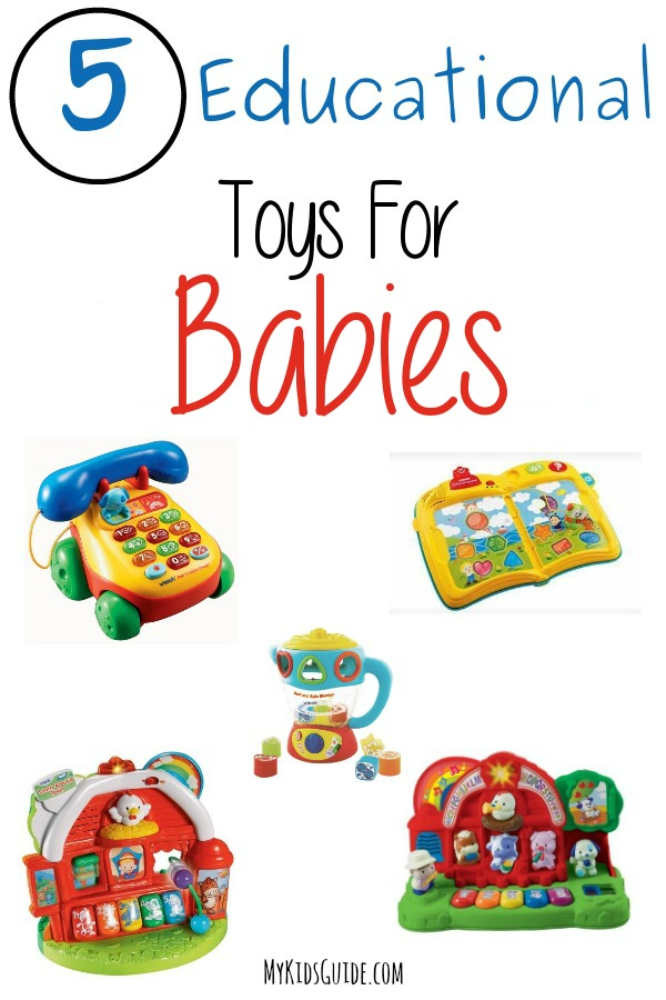 5 Educational Toys For Babies & Toddlers | MyKidsGuide.com