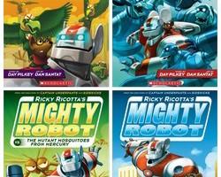 Ricky Ricotta Books for Kids