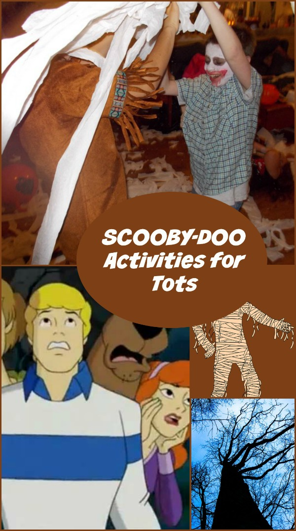 Let Little Ones Play Sleuth with these Scooby Doo Activities For Toddlers