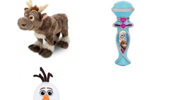 Disneys Frozen Toys For 1 Year Olds: With Christmas around the bend, check out these Disney's FROZEN Toys For 1 Year Olds. Not only did we find some fun and unique gifts great for the younger crowd, we know you'll love them too!
