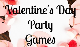 Valentine's Day party games for kids