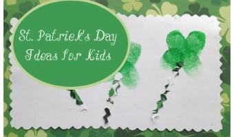 St Patricks Day ideas for kids